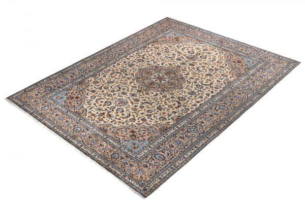 beige Kashan Persian Carpet for sale DR-426