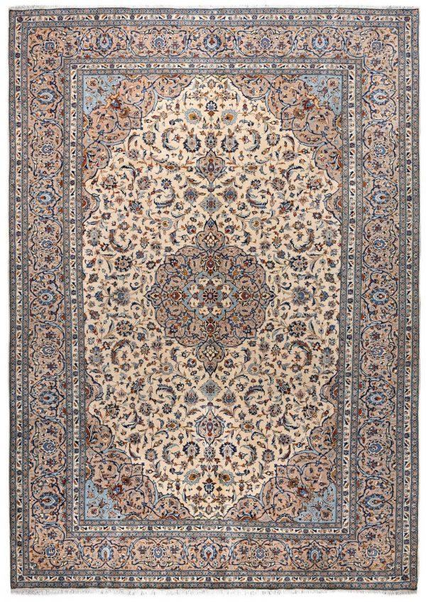 beige Kashan Persian Carpet for sale DR-426-7300-1