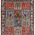 cheap persian bakhtiar rug-dr319-7246