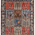 cheap persian bakhtiar rug-dr319-7246