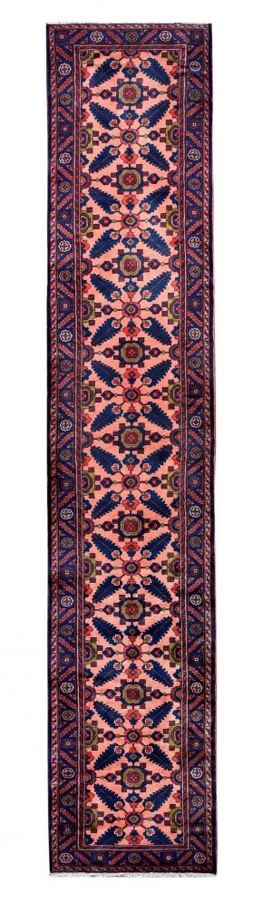 handmade persian runner carpet-long-dr322