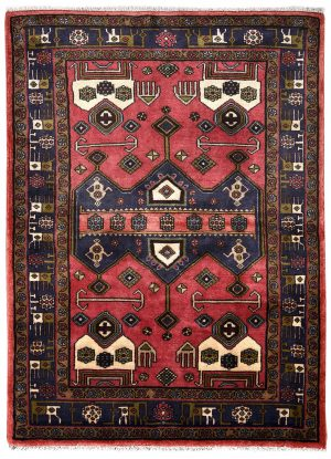 koliai kurdish Tribal rug for sale DR-317-7223