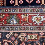 Blue Tribal Koliai Persian Rug for sale DR-274-7093
