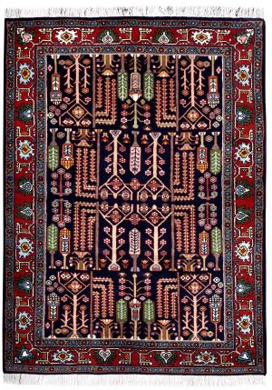 Blue Tribal Koliai Persian Rug for sale DR-274-7244