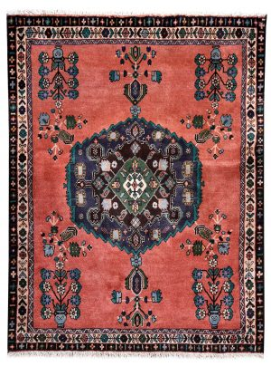 Rusty Red Small Afshar Persian Rug for sale DR4211-5177