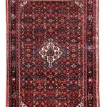 Small Handmade Persian Rug for sale Hoseinabad 1×1.5m rug DR216-5175
