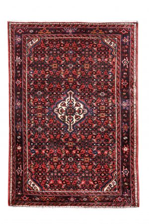 Small Handmade Persian Rug for sale Hoseinabad 1x1.5m rug DR216-5175