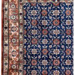 50 Years Old Hand Knotted Persian Rug – Varamin DR468-5219