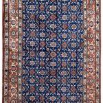 50 Years Old Hand Knotted Persian Rug – Varamin DR468-5220