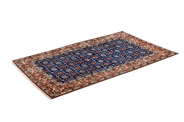 50 Years Old Hand Knotted Persian Rug - Varamin DR468-5222