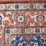 50 Years Old Hand Knotted Persian Rug – Varamin DR468-5223