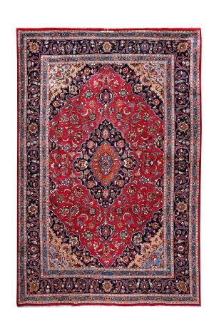 8 x 11 feet high-density Mashad Persian Rug for sale DR114-5350