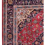 8 x 11 feet high-density Mashad Persian Rug for sale DR114-5351