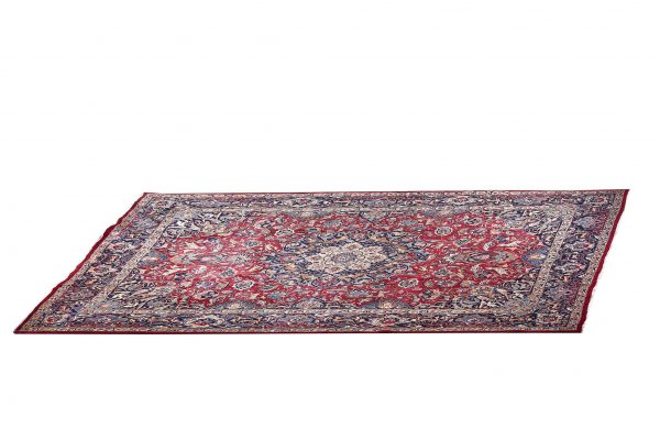 Antique Hand-knotted Mashad carpet for sale DR192-5364