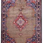 Brown koliai handmade Persian Rug for sale DR-357-5216