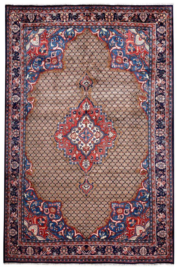 Brown koliai handmade Persian Rug for sale DR-357-5216