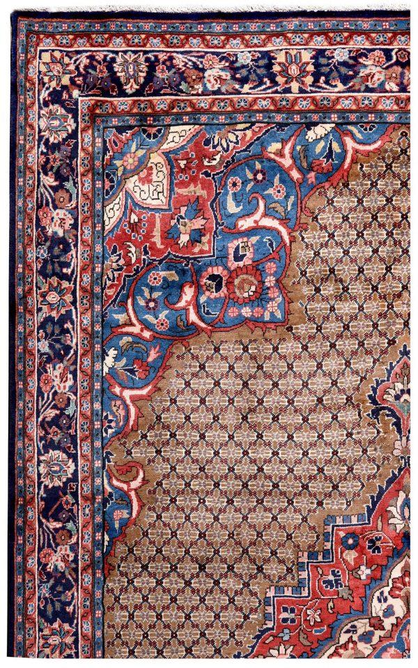 Brown koliai handmade Persian Rug for sale DR-357-5217