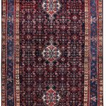 Dark blue Malayer Rug, 5x10 feet Persian Rug DR445-5243