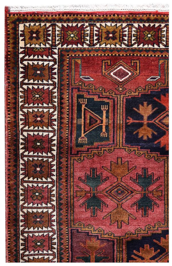 Hand knotted Korramabad Rug-Lori Rug-DR440-5275