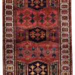 Hand knotted Korramabad Rug-Lori Rug-DR440-5276