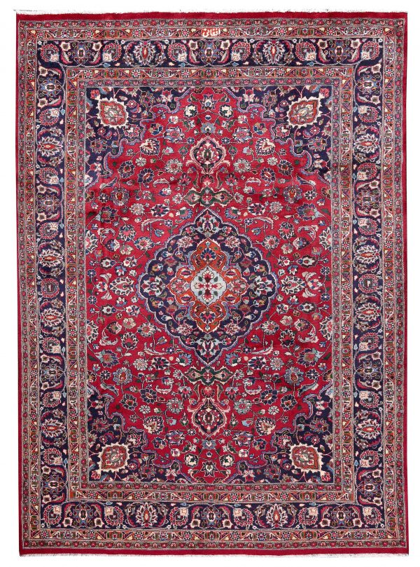 Red Hand knotted Mashad Carpet for Sale DR138-5364