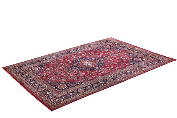 Red Hand knotted Mashad Carpet for Sale DR138-5368