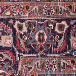 Red Hand knotted Mashad Carpet for Sale DR138-5369