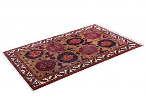 Tribal Hand-knotted Lori Rug, Khoramabad Rug-DR441-5263