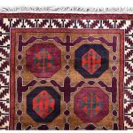 Tribal Hand-knotted Lori Rug, Khoramabad Rug-DR441-5273
