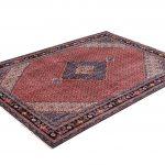 2×3 Meter Red Ardabil Persian Carpet-DR452-5432