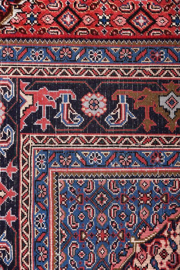 2x3 Meter Red Ardabil Persian Carpet-DR452-5433