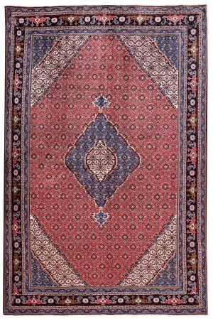 2x3 Meter Red Ardabil Persian Carpet-DR452-5443