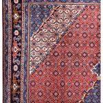 2×3 Meter Red Ardabil Persian Carpet-DR452-5444