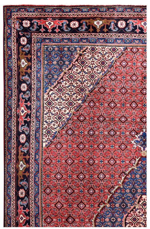 2x3 Meter Red Ardabil Persian Carpet-DR452-5444