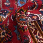 2x3m Hand-knotted Red Mashad Carpet for sale DR453-454-5387