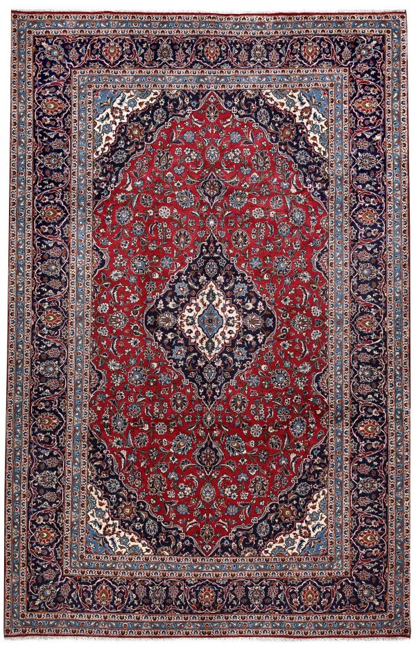 8 x 12 Feet Kashan Persian Carpet DR450-5468