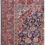 Small Handmade Persian Carpet Ardakan Rug DR458 5489