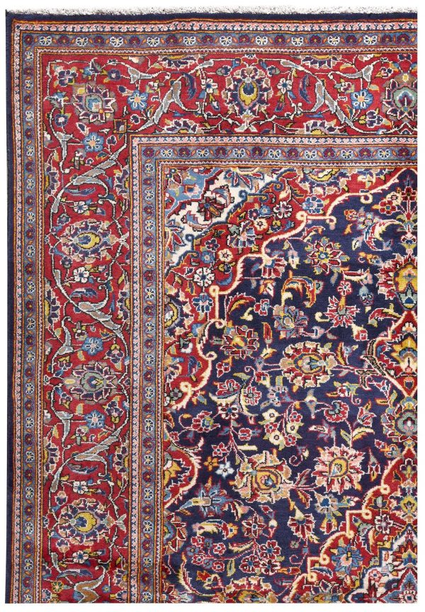 Small Handmade Persian Carpet Ardakan Rug DR458 5489