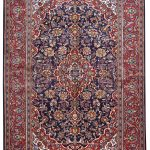 Small Handmade Persian Carpet Ardakan Rug DR458-5488