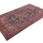 Small Handmade Persian Carpet Ardakan Rug DR458-5490
