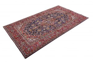 Small Handmade Persian Carpet Ardakan Rug DR458-5490