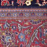 Small Handmade Persian Carpet Ardakan Rug DR458-5491