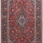 Ardakan Persian Red Carpet - Kashan Rug DR455-5538