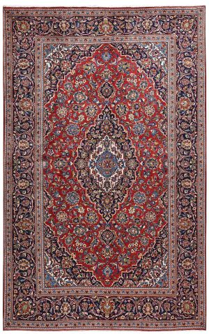 Ardakan Persian Red Carpet - Kashan Rug DR455-5538