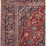 Ardakan Persian Red Carpet – Kashan Rug DR455-5540