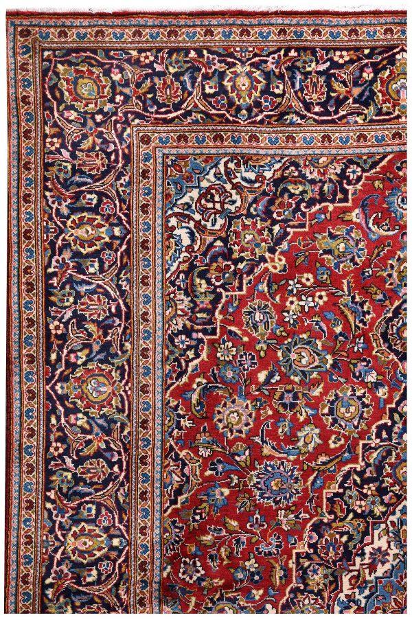 Ardakan Persian Red Carpet - Kashan Rug DR455-5540