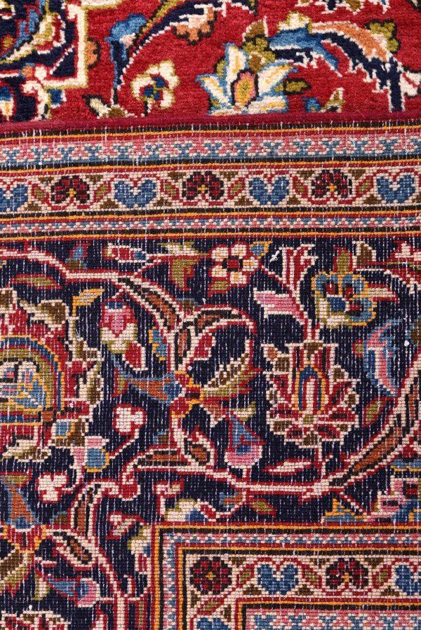 Ardakan Persian Red Carpet - Kashan Rug DR455-5542