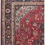 Iranian red carpet, 2x3m Tabriz carpet DR451-5516