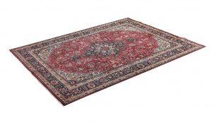 Iranian red carpet, 2x3m Tabriz carpet DR451-5517