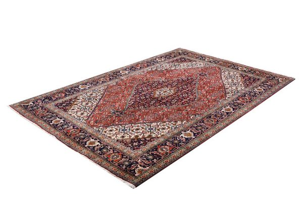 Persian red rug - 2x3 meters Tabriz rug - DR461-5528